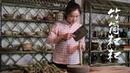云南香糯特色小吃:竹筒粑粑,小时候看西游记里猪八戒吃就看馋了【28359