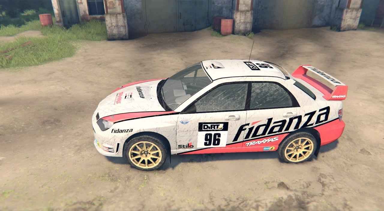 Subaru Impreza WRX для Spintires - Скриншот 2