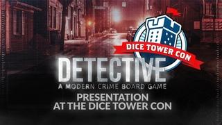 Презентация Детектива на Dice Tower Con