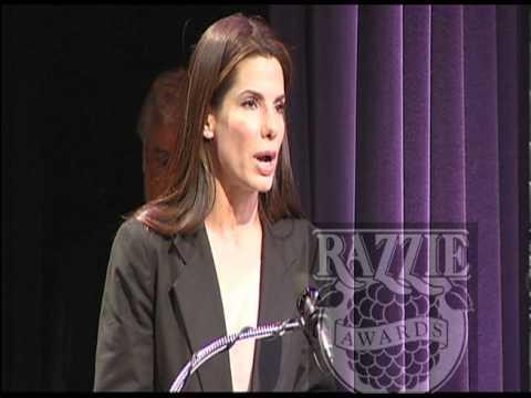 Sandra Bullock takes bow at the RAZZIES®