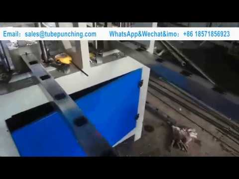 CNC Automatic Hydraulic Punching Machine Square Tube Square Hole High Efficiency