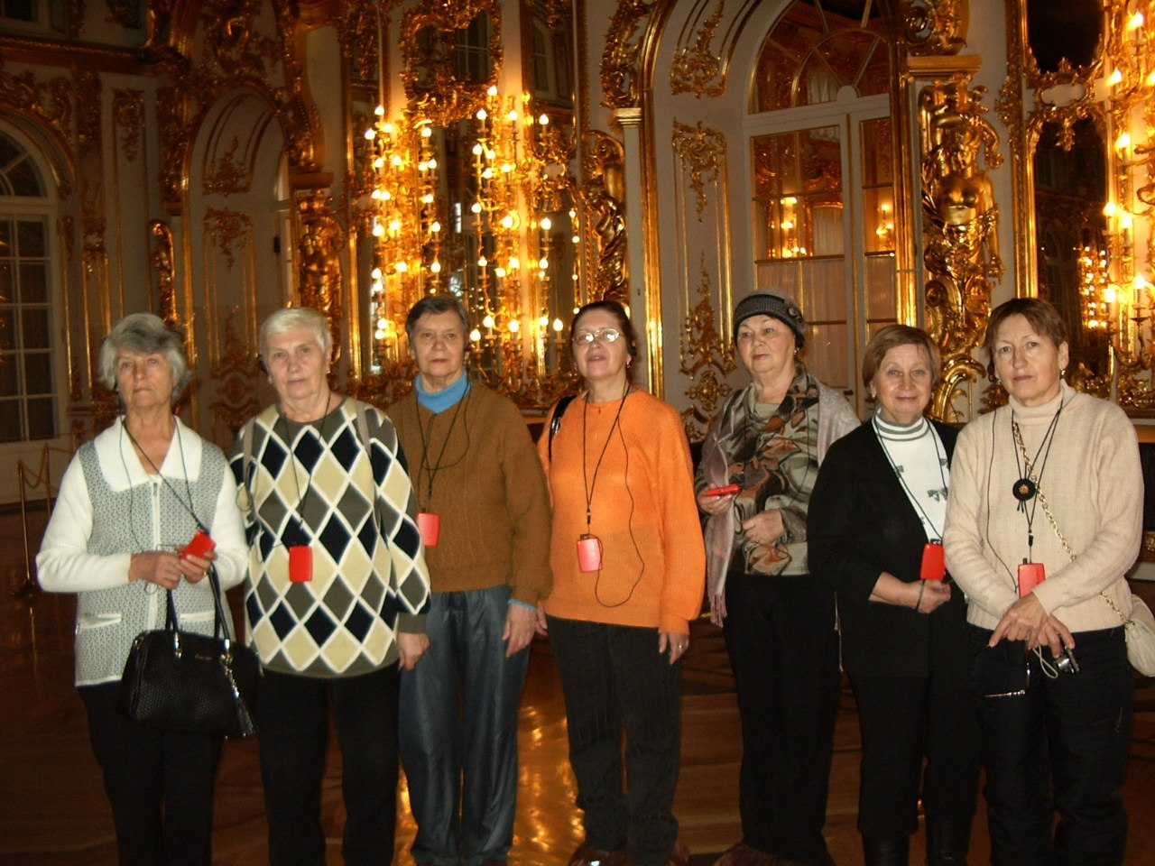 Группа «ВОЗРОЖДЕНИЕ». Выезд в г. Пушкин. 19 декабря 2013 года