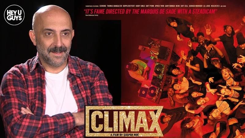 Writer / Director Gaspar Noé talks Climax starring Sofia Boutella