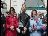 Ретро-поезд «Эшелон Победы» встретили жители Алданского района Якутии