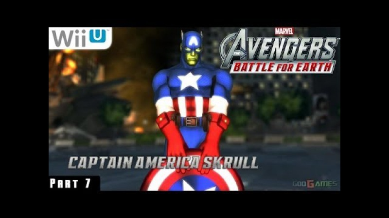 Marvel Avengers Battle for Earth - WiiU Gameplay 1080p part 7 (Manhattan Completed)