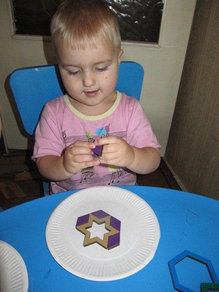 мандала от полуторолетнего ребенка