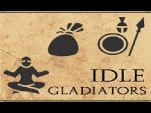 Прохождение игры Idle Gladiators