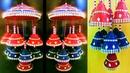 DIY Easy Newspaper Craft idea/ Newspaper wall handing/JHUMAR/diwali craft/ Best out of waste