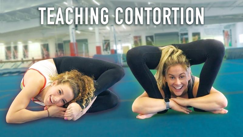 Teaching an Olympian Contortion (ft. Shawn Johnson)