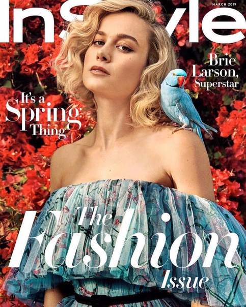 ie Larson InStyle, March 2019
