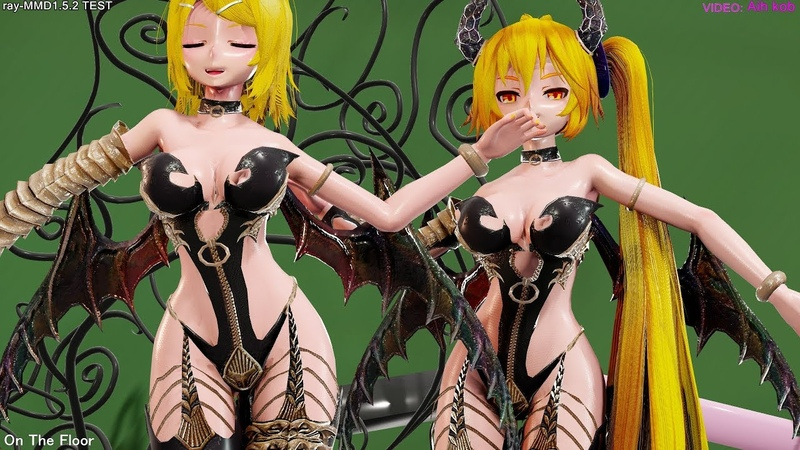【Ray-MMD】Tda Succubus RIN NERU [On The Floor]【4K60fps】