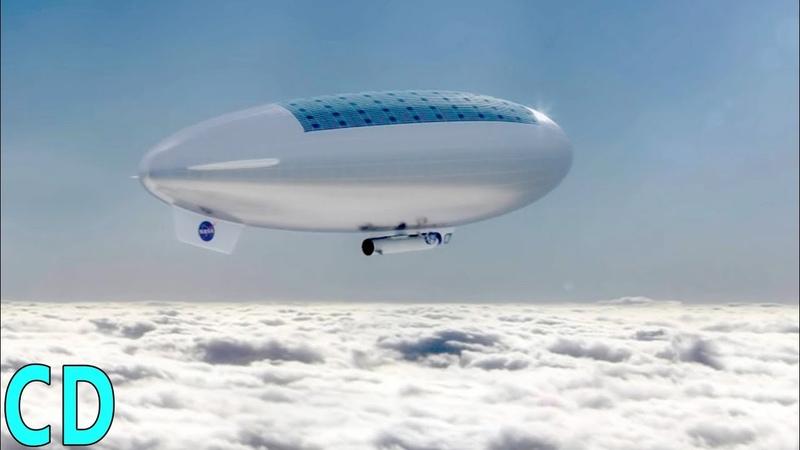 Zeppelins of Mars HAVOC on Venus NASA's new Planetary Airships