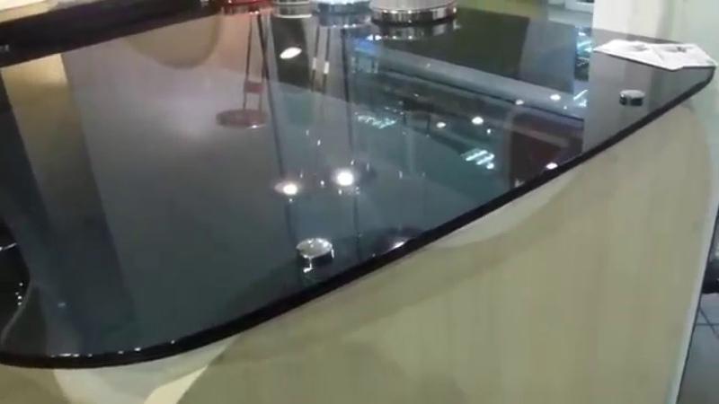Стеклянный компьютерный стол APPLE