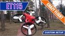 FPV Crazy Flight Custom Drone KingKong LDARC ET 115 V2 MEGA BRUSHLESS WHOOP