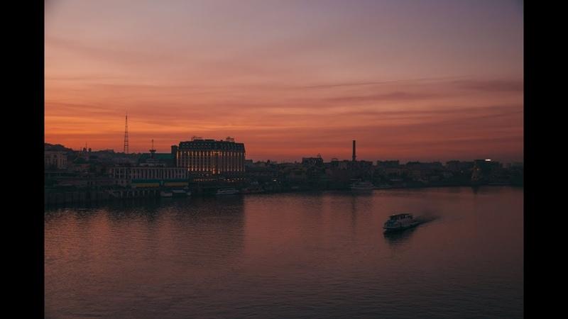 Как жители Киева провожали осенний закат трехдневного уикенда