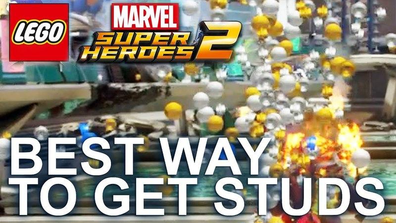 LEGO Marvel Super Heroes 2 - How to get Studs/Money Easy, Best way!