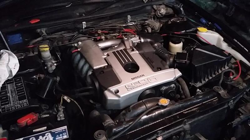 Nissan Laurel - RB20DE NEO | 2 - Запуск