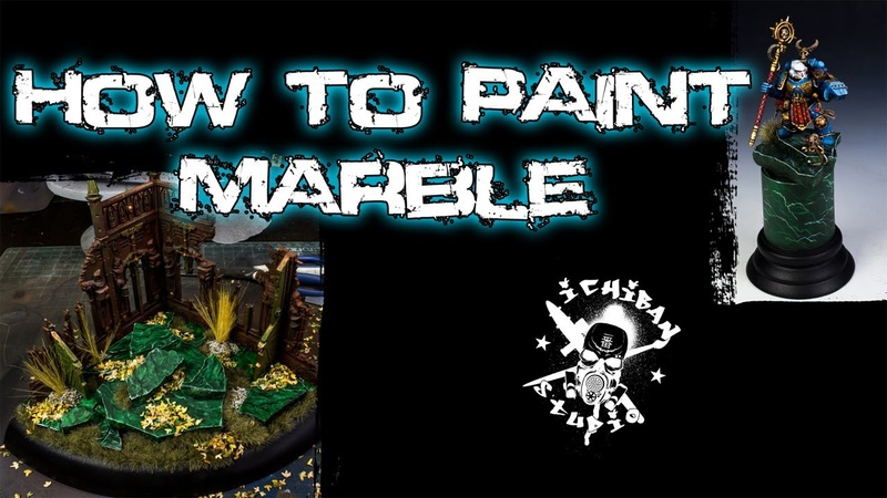 How To Paint Green Marble
