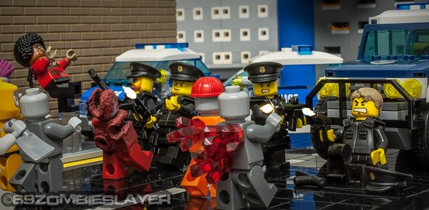 Теги: #LEGO #Zombie #police