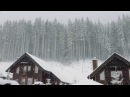 Blizzard Storm Sounds | Relaxing Winter Background Sounds | Heavy Wind Snow