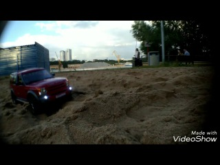 Rc land rover discovery sand adventure
