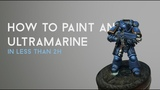 013 How to paint an Ultramarine in less than 2h