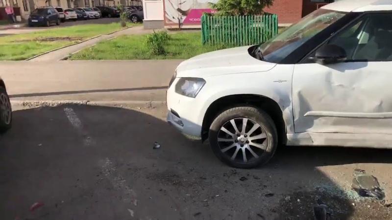 Жесткое ДТП в Волгаре несколько машины всмятку