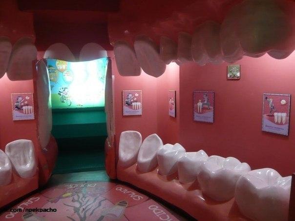 Приемная детской стоматологии.