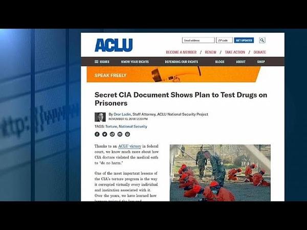 Обнародован доклад ЦРУ о сыворотке правды