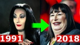 The Addams Family (1991) Cast Then and Now