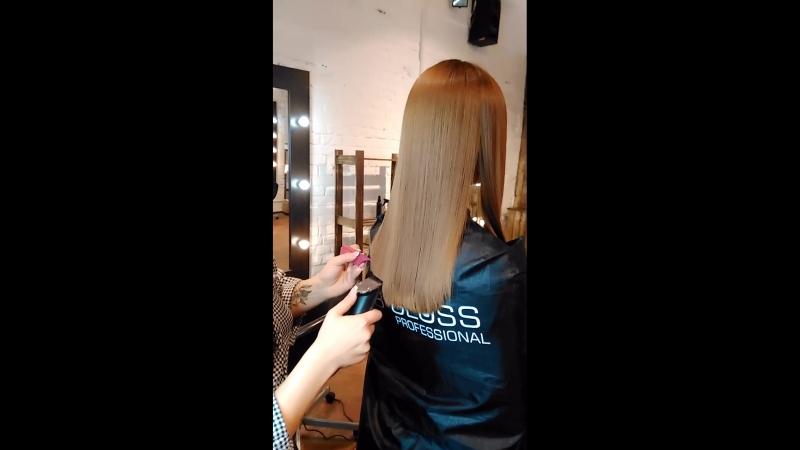 Полировка волос реконструкция подравнивание
