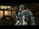 Mortal Kombat 9 Пытаемся пройти командную лестницу и проходим Test Your Luck.