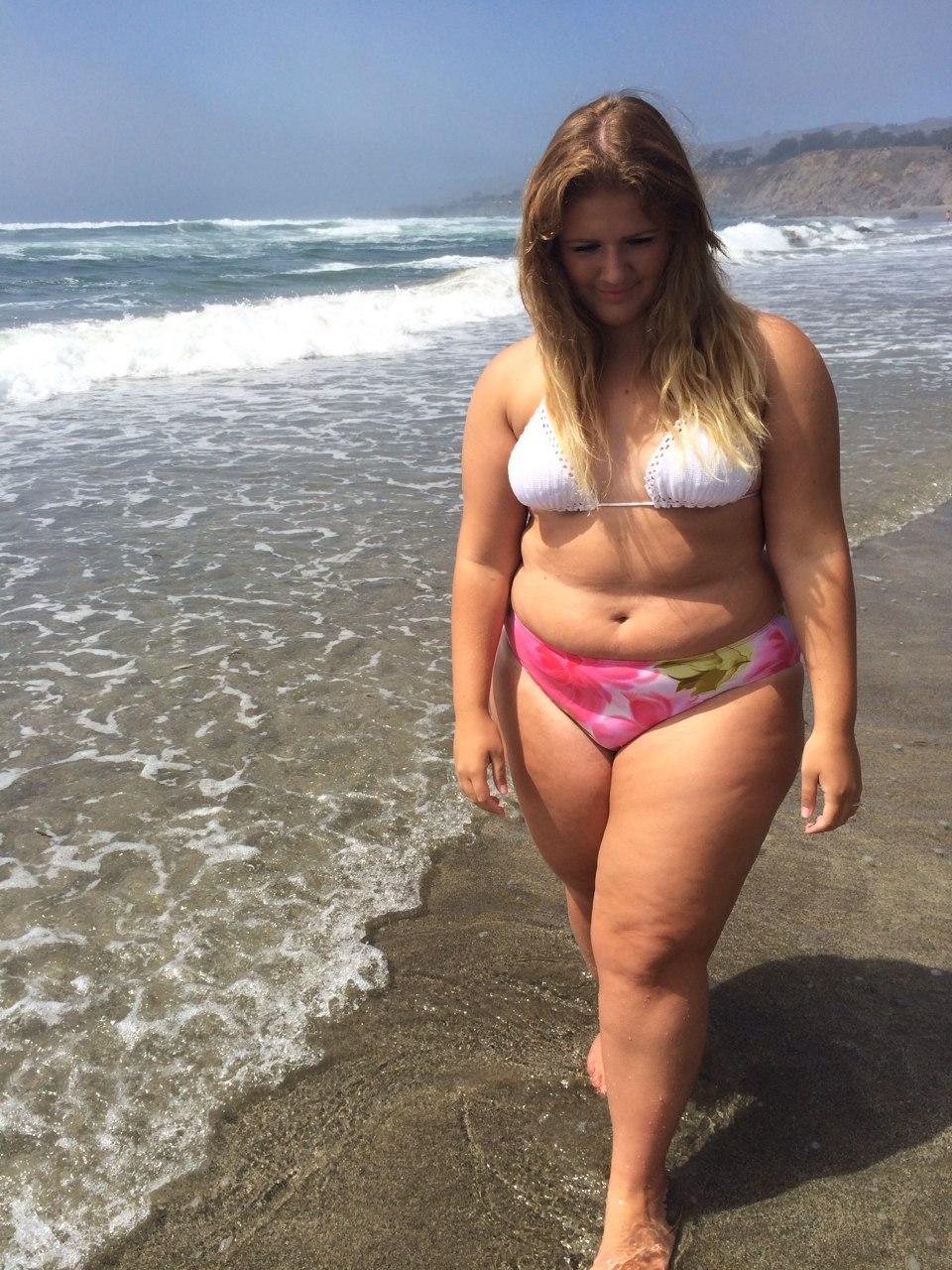 In girl bikini chubby