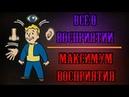 Fallout 4 Всё о восприятии Максимум восприятия