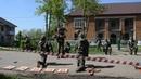 Показательные выступления курсантов военно патриотического клуба Защитники