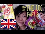 Emmy Eats the U.K. Great Britain More British snacks &amp sweets