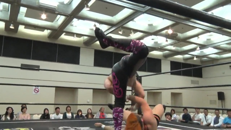 Antonio Honda vs. Kazusada Higuchi vs. MAO vs. Naomi Yoshimura (DDT - Wrestle Fest in Matsuyama 2018)