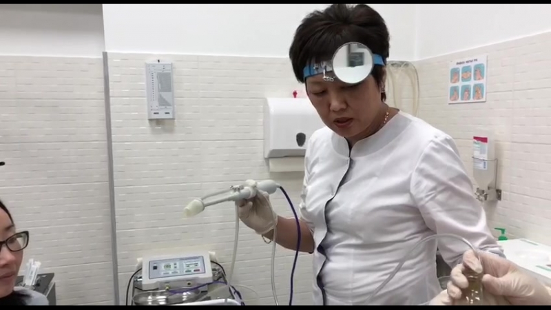 санация небных мендалин
