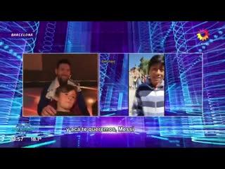 Сын Месси смотрит видео, где 6-летние мальчики восхваляют его отца