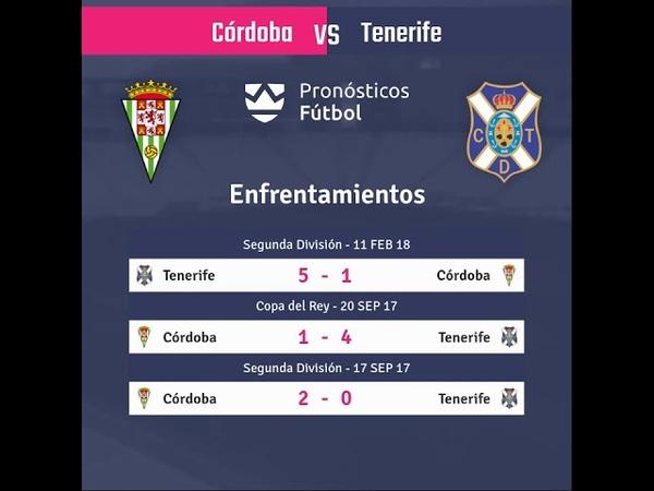 Previa Córdoba vs Tenerife - Jornada 6 - LaLiga 123 2018 - Pronósticos y horarios