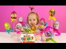 Киндеры редких коллекций. Видео про киндер сюрпризы. Открываем киндеры с игрушками.