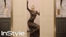 Sofia Boutella | 2019 Golden Globes Elevator | InStyle