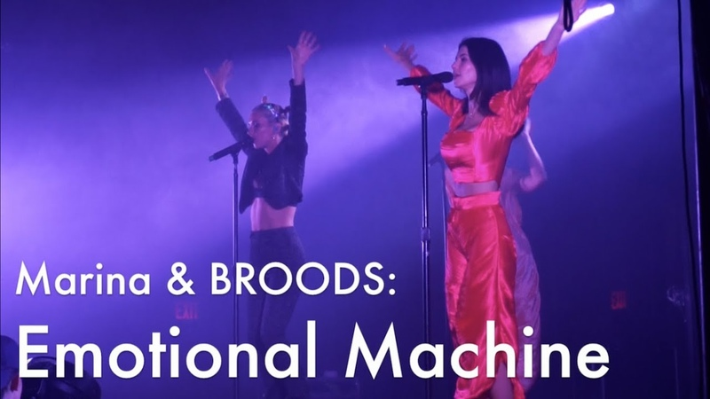 Marina ft BROODS Emotional Machine LIVE Neon Gold X Knockdown Center NYC 2018