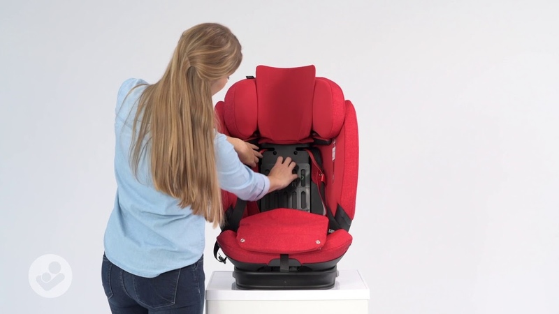 Maxi-Cosi   Titan Pro Car seat   How to adjust the seat from group 1 to group 2/3