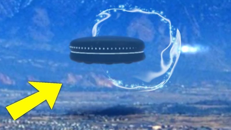ALIEN UFO CRAFT GOES INSIDE PORTAL!! CLEAR FOOTAGE! 29th April 2018