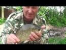 (видео)-18-05-2018г-рыбалка на ВЕНЁВКЕ У плотины-карась на 600 гр клюнул.