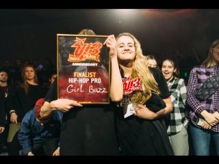U-13 ANNIVERSARY | HIP-HOP PRO FINAL | GIRL BAZZ vs PUNCHA (win)