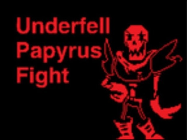 [SCRATCH] Fell PAPYRUS Fight (with infinite HP) {RUS DUB}