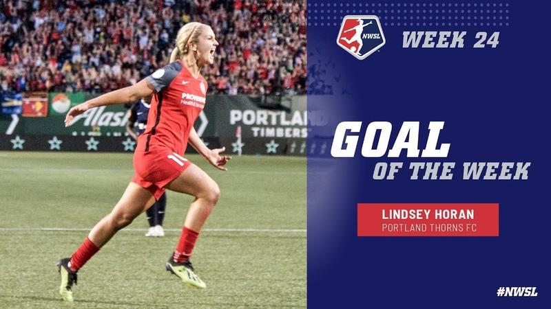 Week 24 Goal of the Week Lindsey Horan Portland Thorns FC NWSL 2018