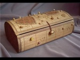 Шкатулка из бамбуковой салфетки. Мастер-класс.
